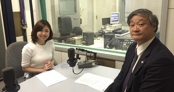アナウンサーの室谷香菜子さんと愛須一史弁護士