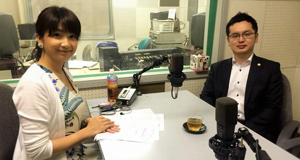 アナウンサーの堰八紗也佳(せきはち さやか)さんと種田紘志弁護士
