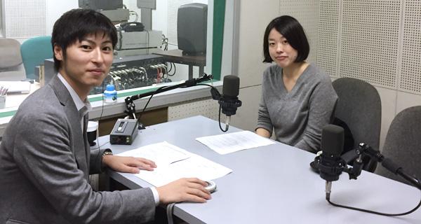 アナウンサーの矢萩尚太郎さんと札幌弁護士会 樋口紗弥弁護士